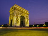 Arc de Triomphe at Dusk Photographic Print by Buddy Mays