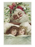 Sweet Dreams Christmas Giclee Print