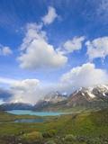 Cuernos del Paine Peaks Photographic Print by John Eastcott & Yva Momatiuk
