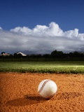 Baseball Photographic Print by Randy Faris