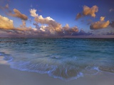 Sunset Over Lagoon at Soneva Fushi Resort in the Baa Atoll Photographic Print by Frank Krahmer