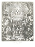 The Day of Judgment Giclee Print by William and Louis Blake and Schiavonetti