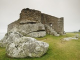 Old Blockhouse Gun Tower Ruins on Tresco Photographic Print by Nik Wheeler