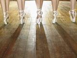 Feet of Ballerinas Fotografie-Druck von Hans Neleman
