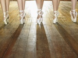 Feet of Ballerinas Photographic Print by Hans Neleman