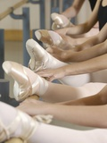 Ballerinas at the barre Photographic Print by Erik Isakson