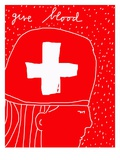 Give Blood Giclee Print by Susan Farrington