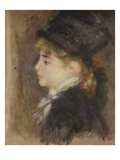 Portrait of a Woman, Possibly Margot Giclee Print by Pierre-Auguste Renoir