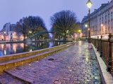 Quai de Valmy on Canal St.-Martin Photographic Print by Peet Simard
