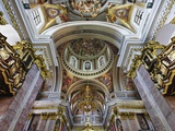 Interior of St Nicholas Cathedral Photographic Print by William Manning
