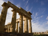 Temple of Hera Photographic Print by Bruno Ehrs