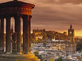 Dugald Stewart Monument in Edinburgh Photographic Print by Doug Pearson