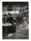 Moulin de la Galette Premium Giclee Print by Paul Hoeniger