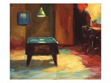 Pool Table Giclee Print by Pam Ingalls