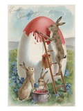 Easter Greetings Reproduction proc&#233;d&#233; gicl&#233;e