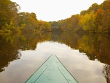 Canoe on a River Photographic Print by Tracy Kahn