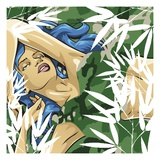 Anime Girl Giclee Print by Tristan Eaton