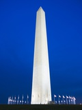 Washington Monument at Night Photographic Print by Tim Mcguire