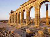 Roman Ruins at Volubilis, Morocco, North Africa, Africa, Photographic Print