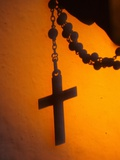 Shadow of a Cross Photographic Print by Pascal Deloche