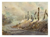 Posts in Sunshine Premium Giclee Print by LaVere Hutchings