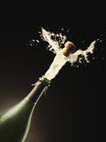 Exploding Champagne Fotografie-Druck von John Gillmoure