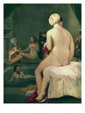 The Small Bather, Interior of the Harem Giclee Print by Jean-Auguste-Dominique Ingres