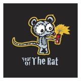 Year of the Rat Lámina giclée