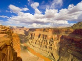 Grand Canyon and Colorado River Fotografie-Druck von John Eastcott & Yva Momatiuk