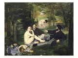 Luncheon on the Grass Giclee Print by Edouard Manet