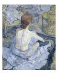 Woman at Her Toilet Giclee Print by Henri de Toulouse-Lautrec