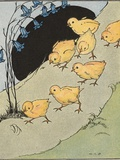 All the Little Chicks Came Running Photographic Print by Margaret Evans Price