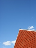 Peak of a Barn Roof Photographic Print by Tim Pannell
