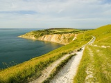 Isle of Wight Coastline Photographic Print by John Harper