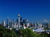 Steve Vidler - Seattle and Mount Rainier Fotografická reprodukce