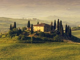 Tuscan Villa at Sunrise Photographic Print by Frank Krahmer