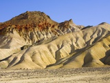 Colorful Badlands, Death Valley National Park Photographic Print by John Eastcott & Yva Momatiuk