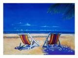 Beach Giclee Print by Melissa Meier