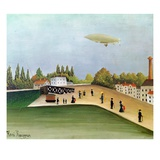 Quay at Ivry Giclee Print by Henri Rousseau