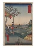 Fujimi Teahouse at Zoshigaya Giclee Print by Ando Hiroshige