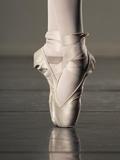 Feet of Ballet Dancer En Pointe Fotodruck von Erik Isakson