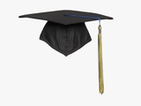 Mortarboard Photographic Print by Lew Robertson