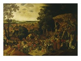 Christ on the Way to Calvary Reproduction giclée Premium par Pieter Brueghel the Younger