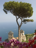 Church in Ravello Photographic Print by Peter Adams