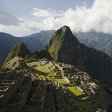 Machu Picchu Photographie par Hugh Sitton