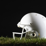 Football Helmet Photographic Print by Sean Justice