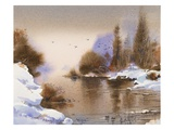 Dusk Premium Giclee Print by LaVere Hutchings