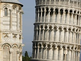 Cathedral and Leaning Tower of Pisa Photographic Print by Fred de Noyelle