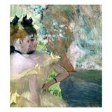 Dancers in the Wings Giclee Print by Edgar Degas