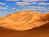 Erg Ubari Dunes in Libyan Desert Photographic Print by Michel Gounot